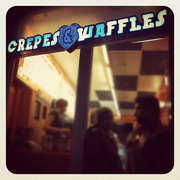 Crepes and waffles amsterdam